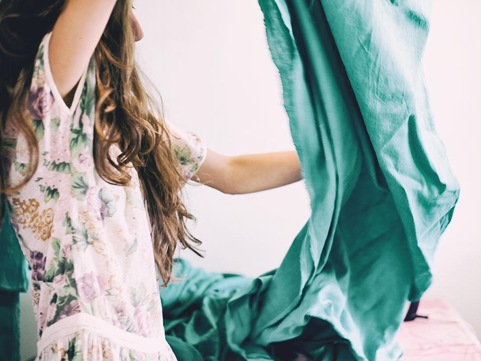 tekstiili lajittelu